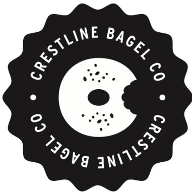 Crestline Bagel logo