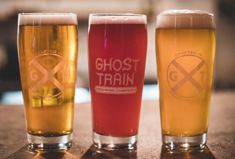 Three beers from Ghost Train - Birmingham breweries