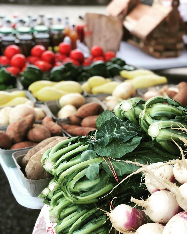 fresh produce at pepper place
