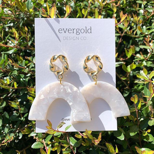 Evergold Design Co earrings
