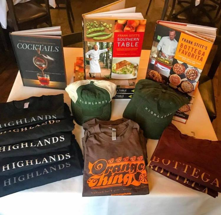 Highlands Bar and Grill - cookbooks from Birmingham chefs