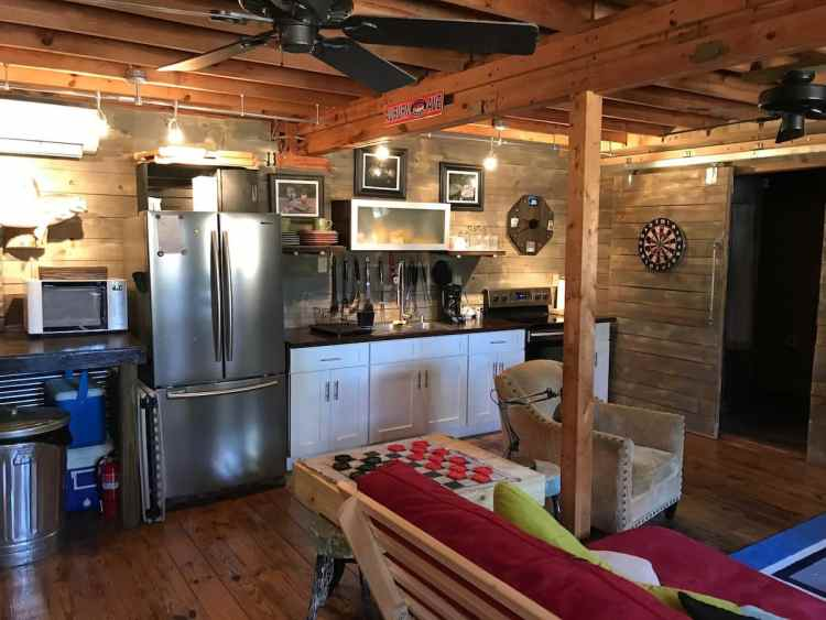 The Barn - remodeled kitchen