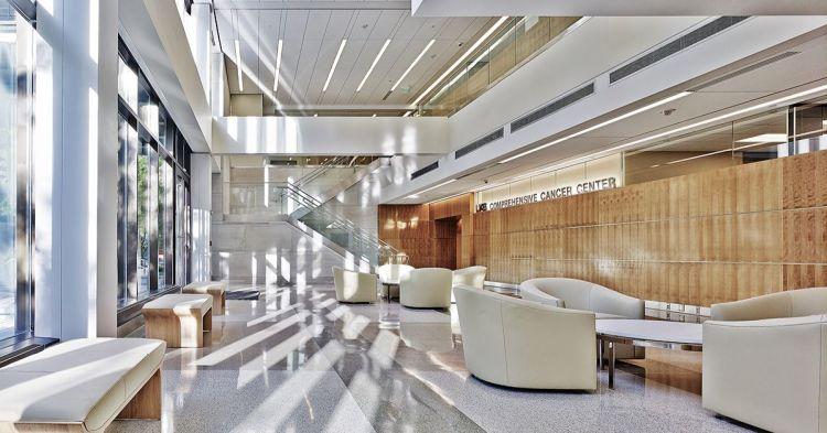 Comprehensive Cancer Center, healthcare design trend