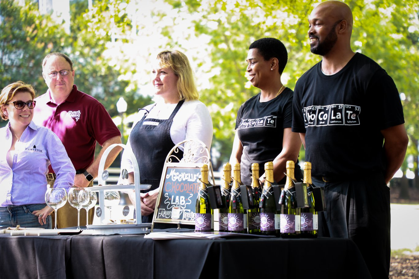 crush wine and food festival
