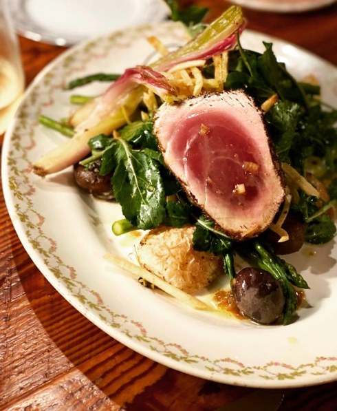 yellowfin tuna evelyn's