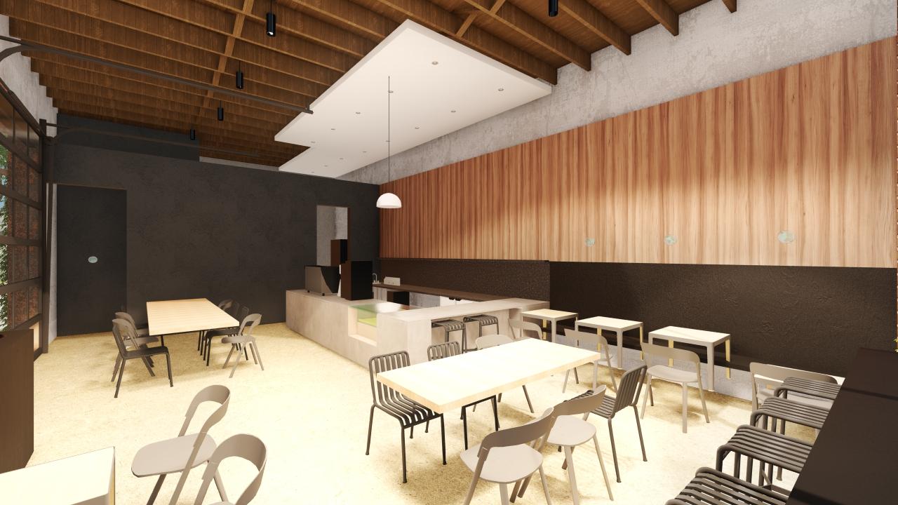 June Cafe renderings opening in birmingham
