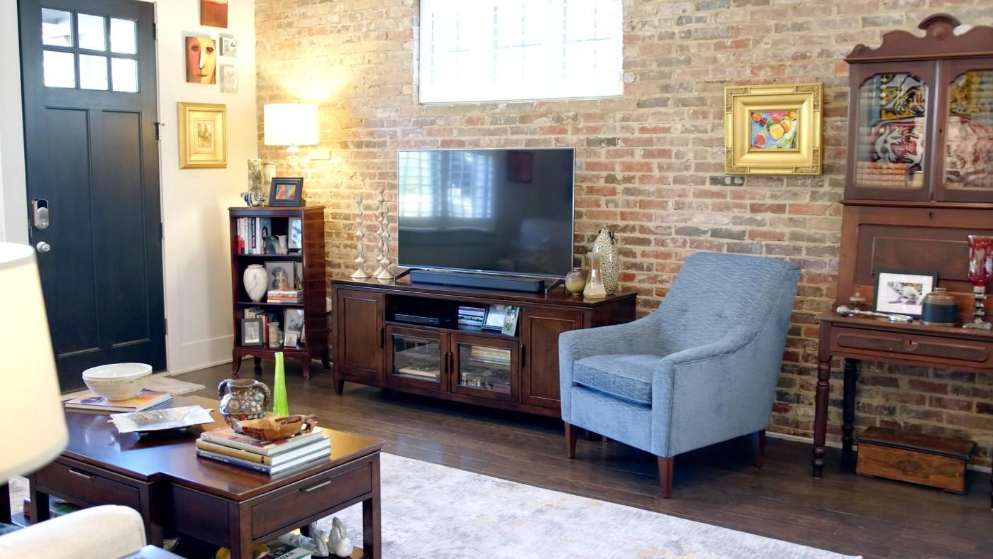 Michael Brogan's living room redesign