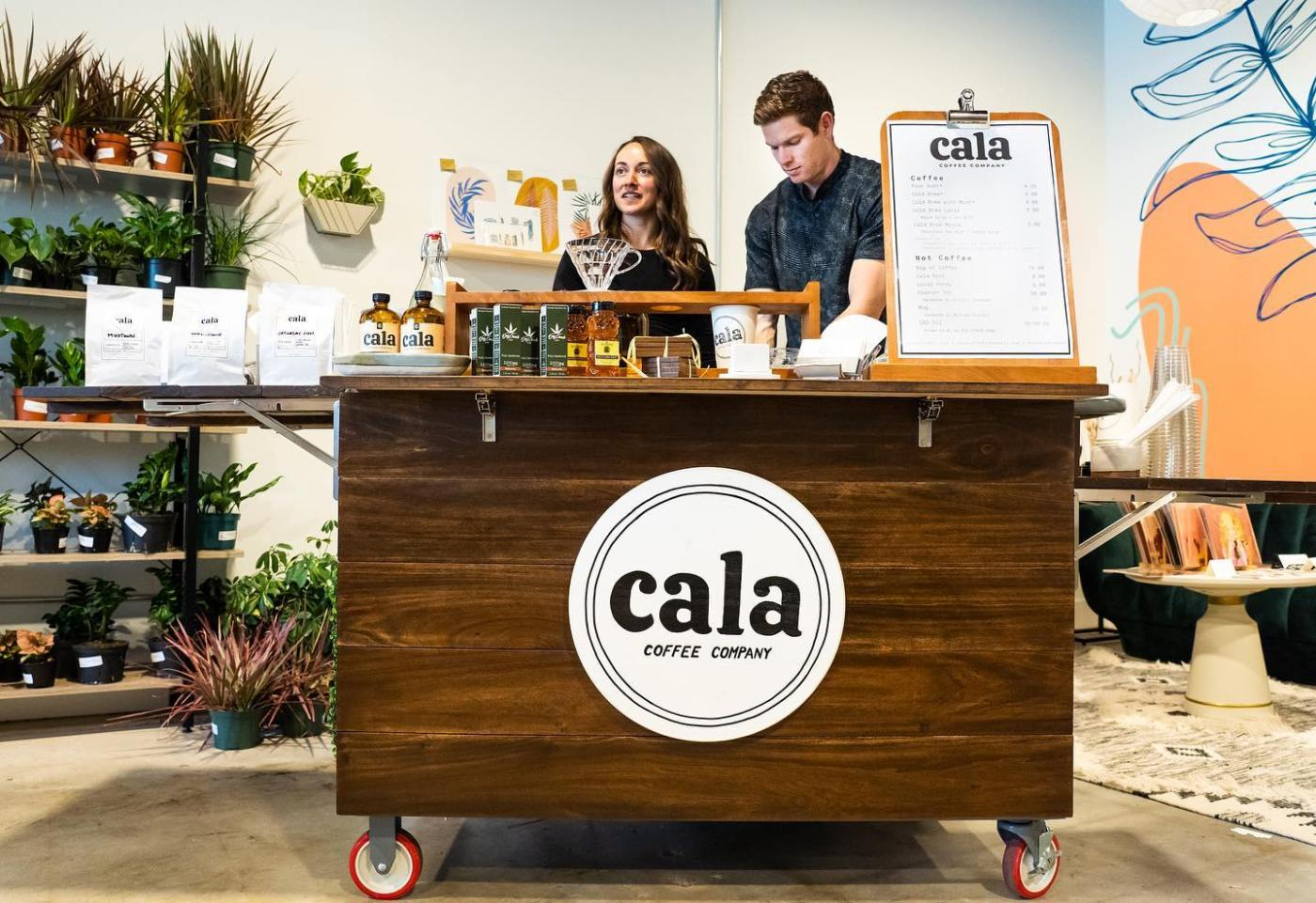 Cala Coffee Cart at House Plant Collective