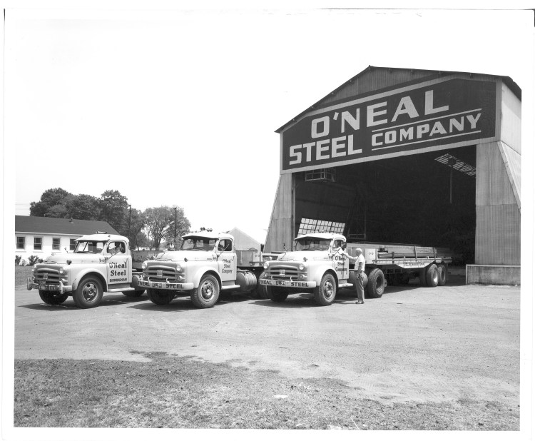 O'Neal Steel has been in the Birmingham community for a century! Photo courtesy of O'Neal Industries