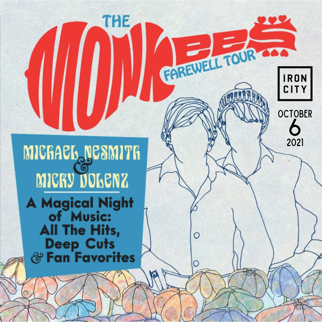 Monkees Concert at Iron City, concerts coming to Birmingham