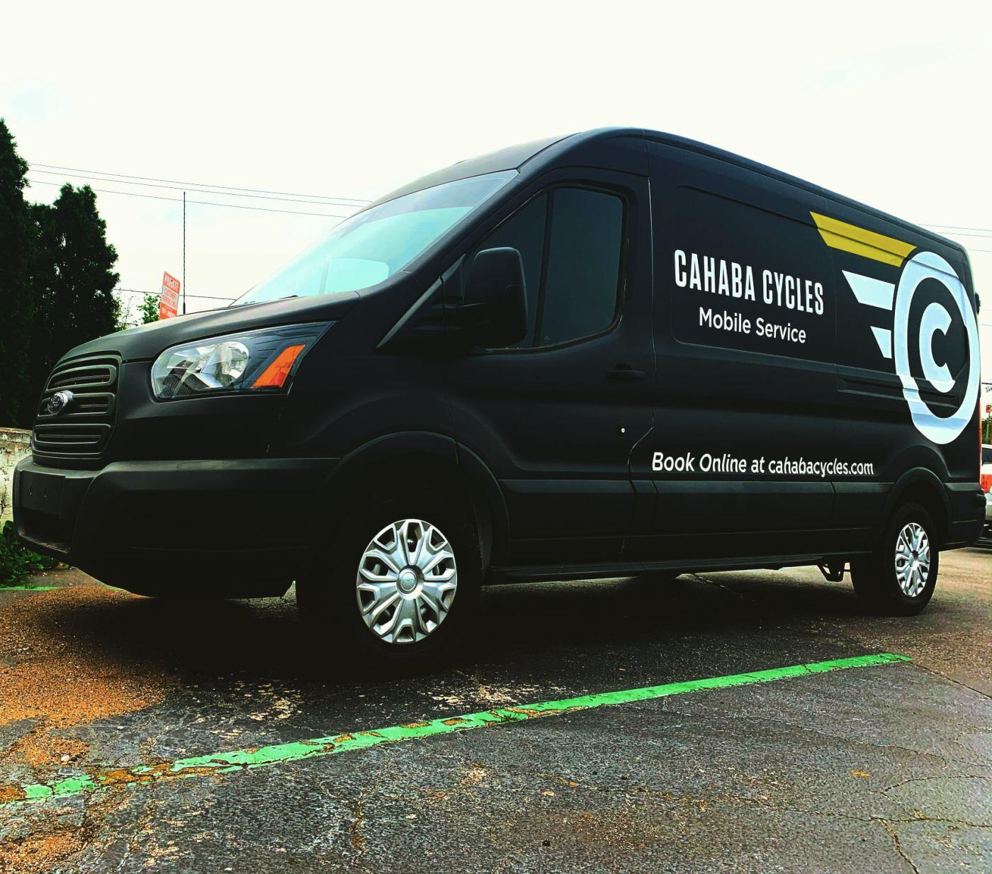 Cahaba Cycles truck