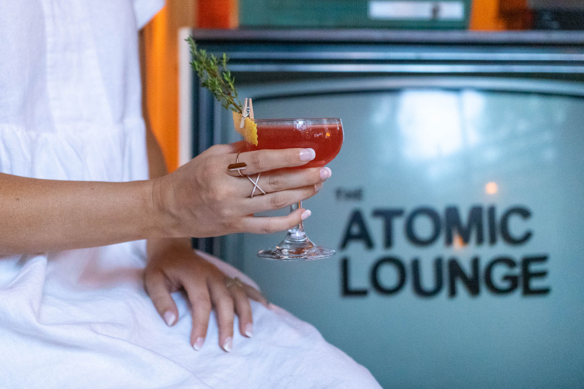 The Atomic Lounge cocktail