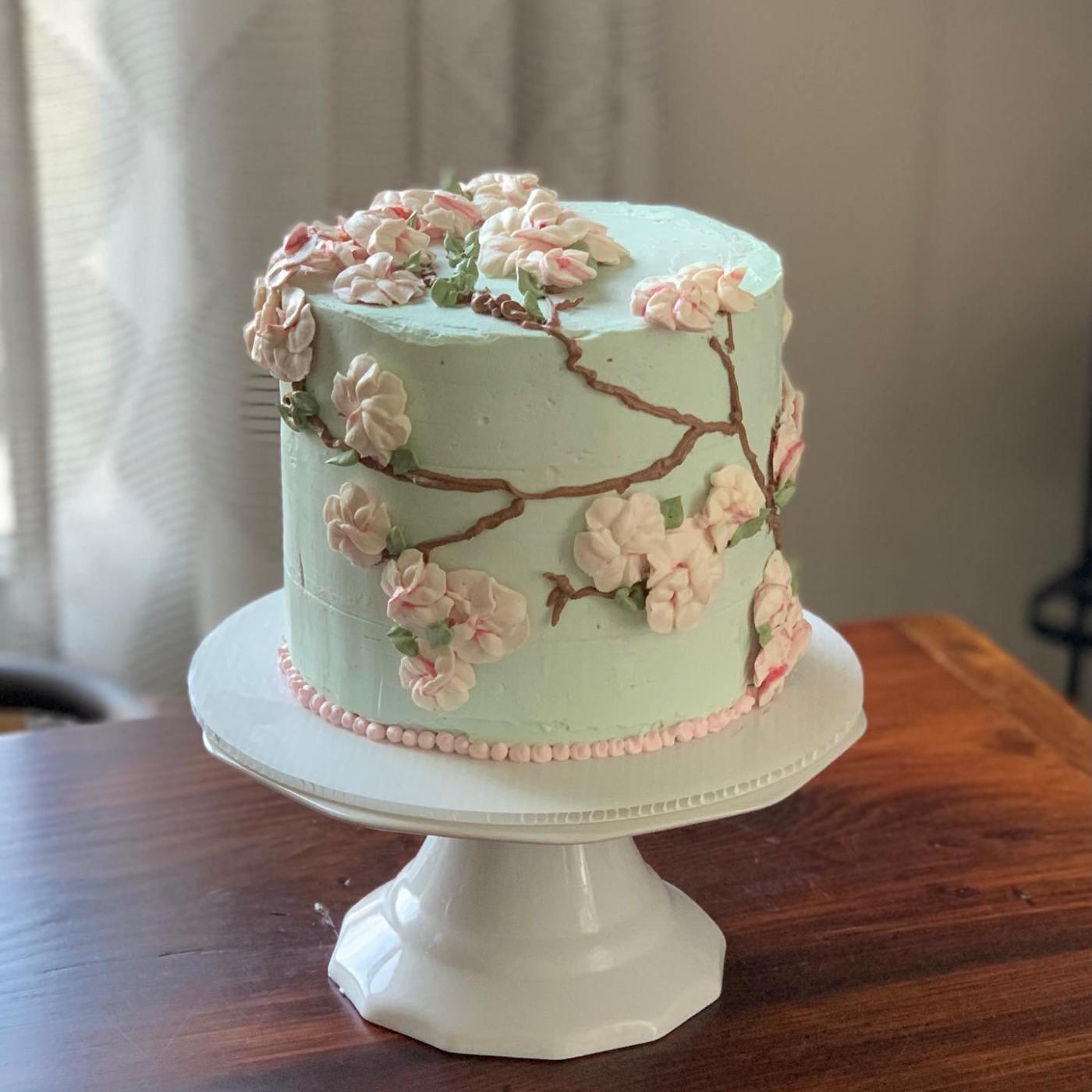 Trial by Fire Baking cake - Birmingham bakers
