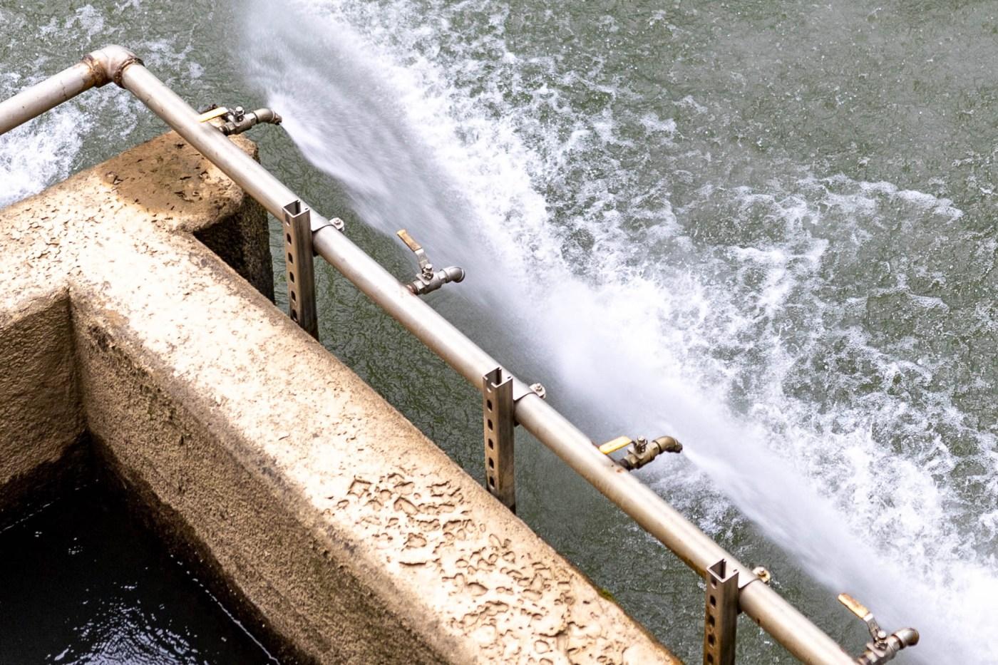 Cahaba River intake, BWWB