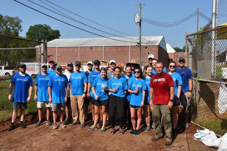 United Way of Central Alabama renovates Princeton Elementary's playground