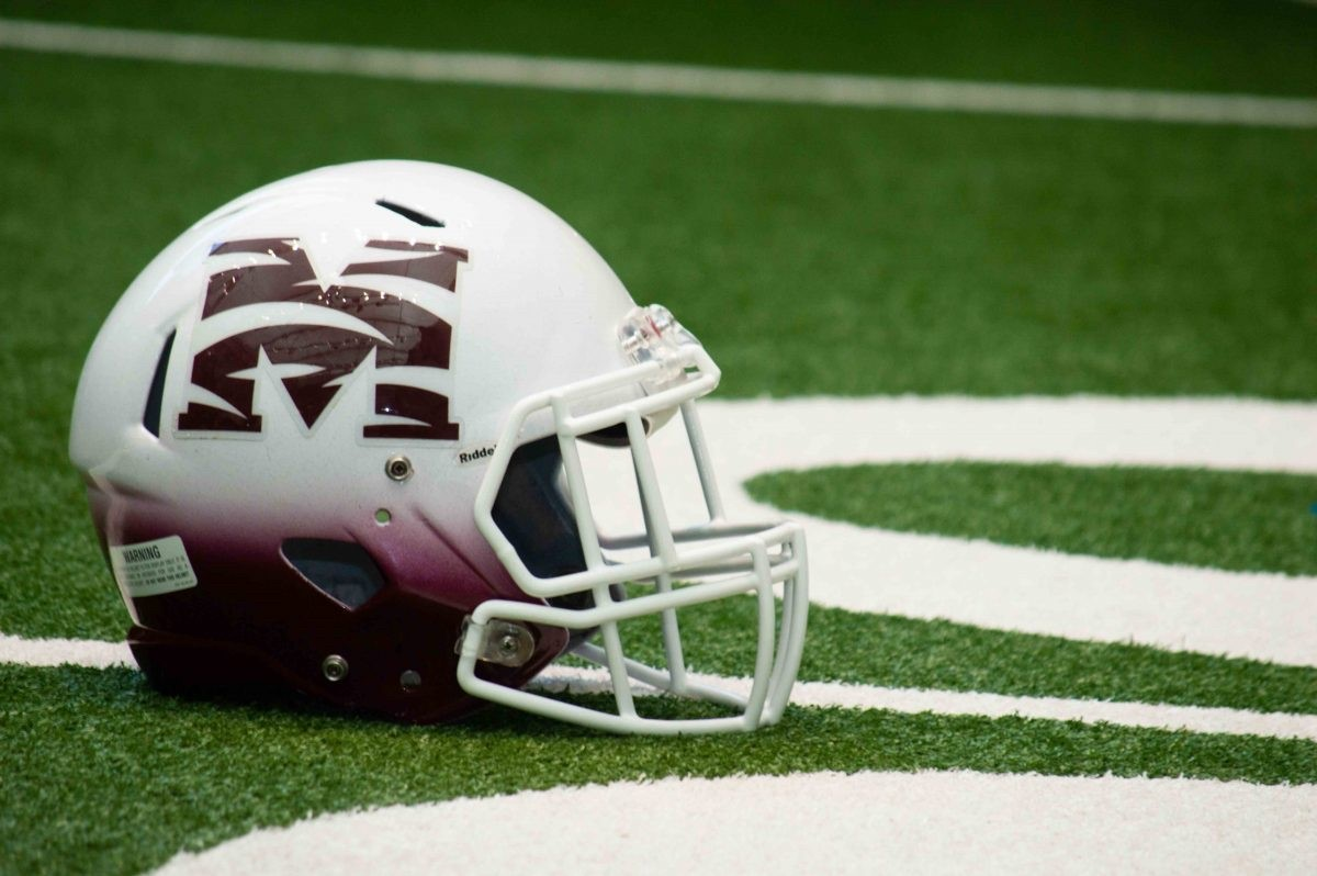 Morehouse football helmet