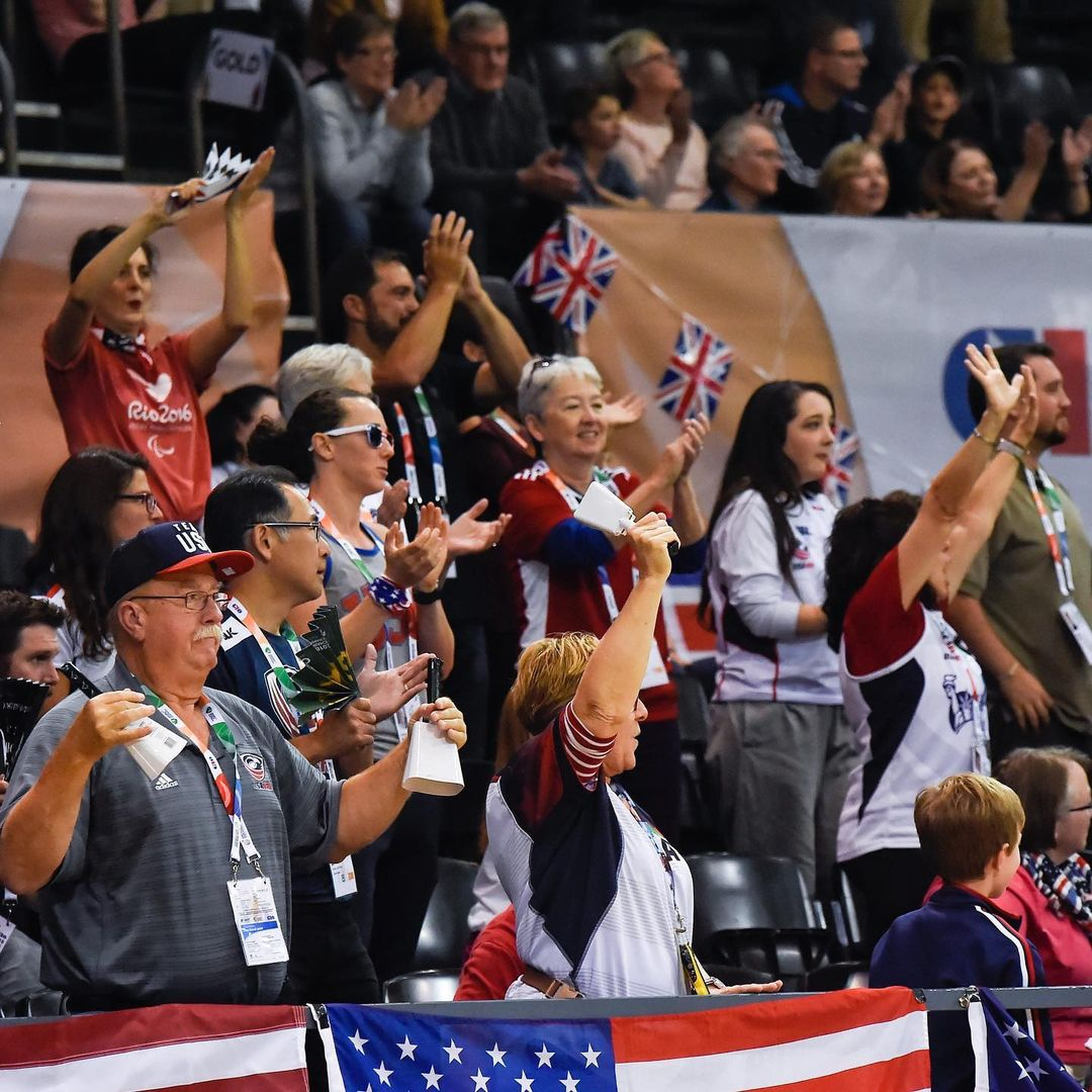 USA Wheelchair Rugby has some big fans, including us!