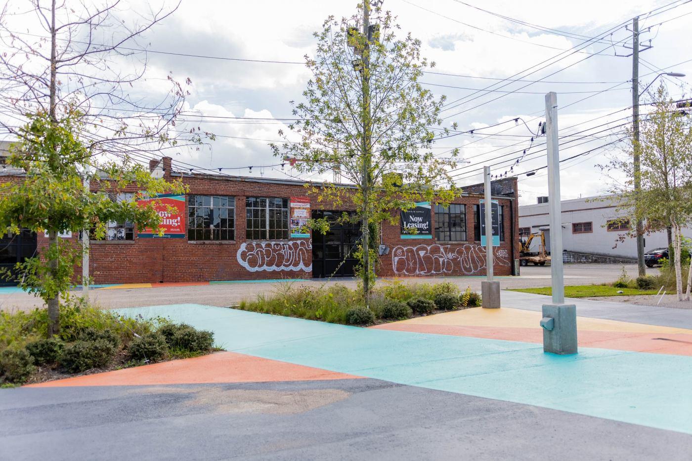 Urban Supply in Downtown Birmingham near Railroad Park
