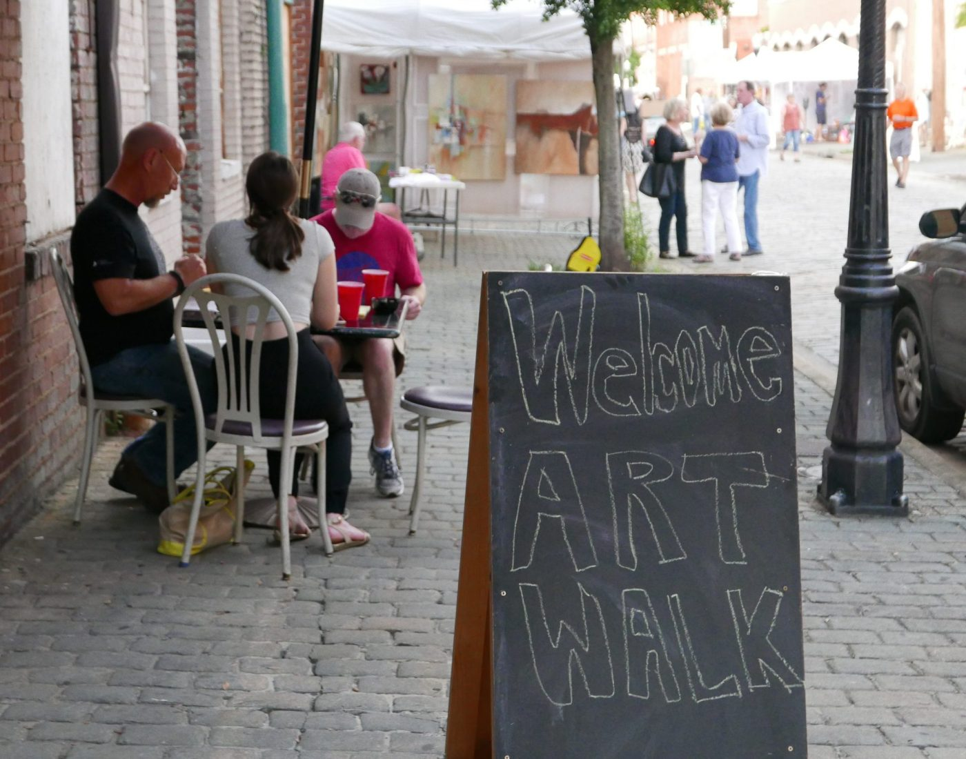 Eat in the streets at Artwalk