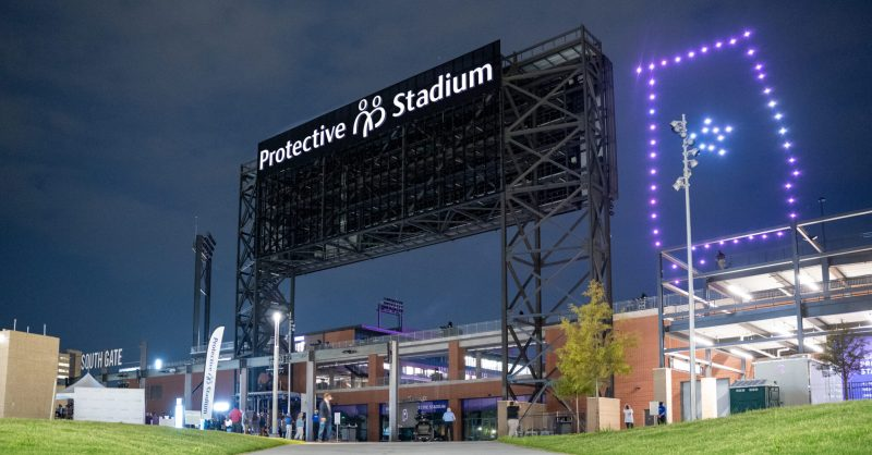 Protective Stadium lights up Birmingham with new sign [Photos]