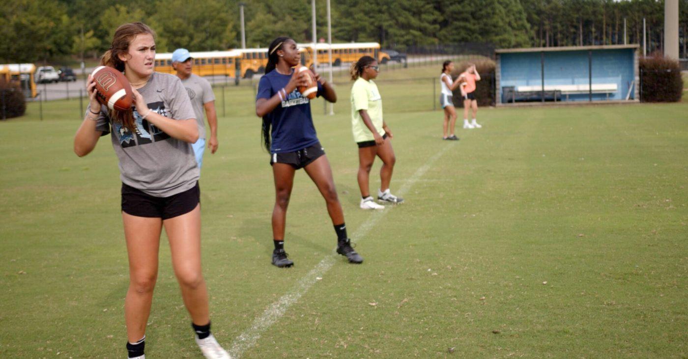 Girls' Flag Football set to kickoff inaugural season at dozens of Alabama high schools this fall