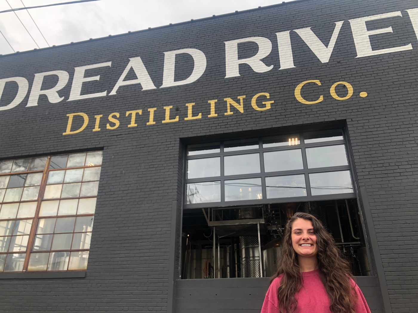 Skyler is a big fan of Dread River and all things bourbon. Photo via Pat Byington for Bham Now