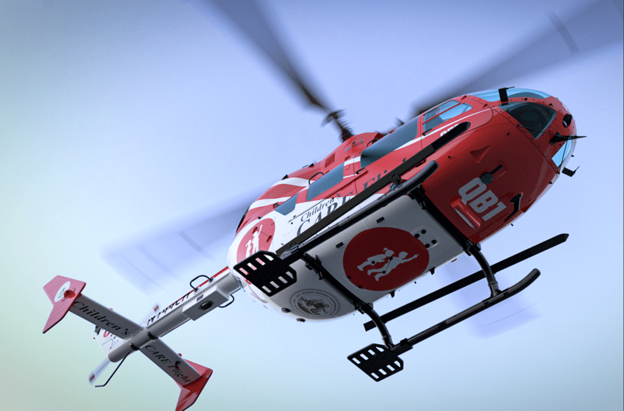 A closer look at Children's of Alabama's new helicopter.