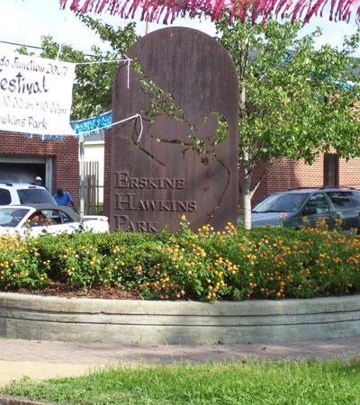 Tuxedo Junction Statue