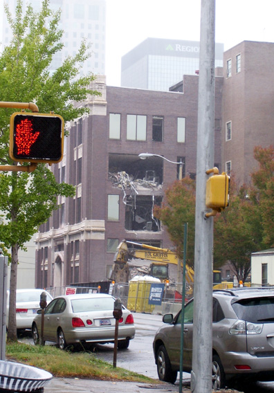 Birmingham News demolition continues