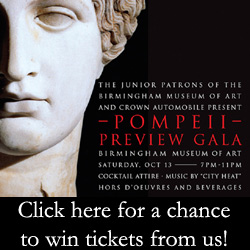 Pompeii Preview Gala entry ad