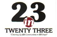 23 in 23 logo