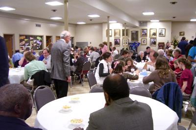 Sixteenth Street/ First Church joint dinner
