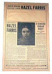 Hazel Farris poster
