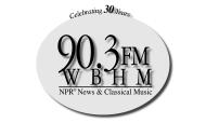 WBHM 30th Anniversary logo