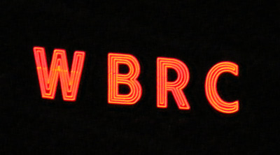 WBRC neon sign