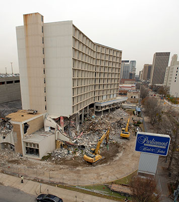 Razing the Parliament House