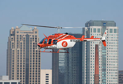 New Children's Hospital helicopter - Bob Farley