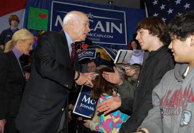 McCain in Birmingham 2.2008