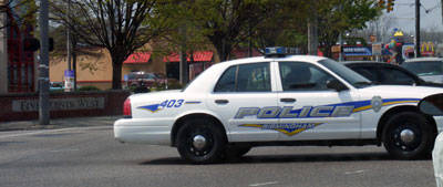 Birmingham Police Department new decals
