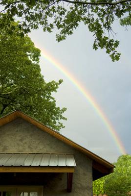 A Rainbow in Roebuck Springs - Bob Farley/f8Photo