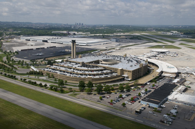 Aerial of Seibels/Bryan - Birmingham International Airport. Photo: Bob Farley/f8photo.org