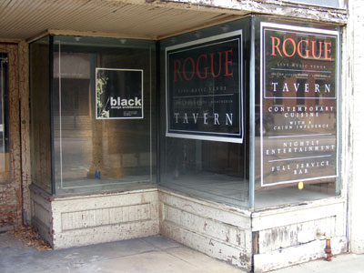 The site for Rogue - a new music venue in downtown Birmingham. acnatta/Flickr.