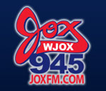 WJOX's new logo - radio station's website