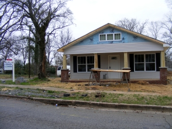 Habitat home in East Lake