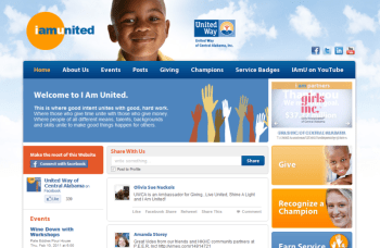 iamunited.org screenshot