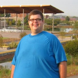 Stephen Vinson at Railroad Park