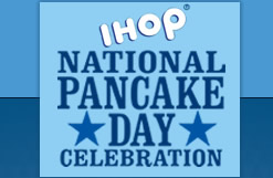 National Pancake Day logo