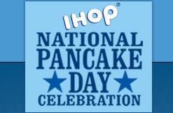 National Pancake Day logo