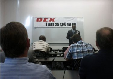 Craig Witherspoon speaking at TechFriday