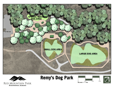 RMP Dog Park MAP